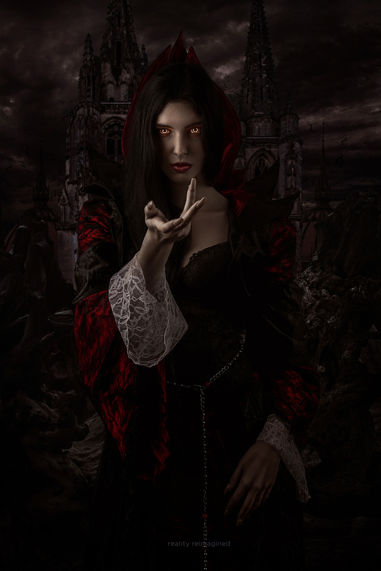 Vampire photomanipulation by reality reimagined