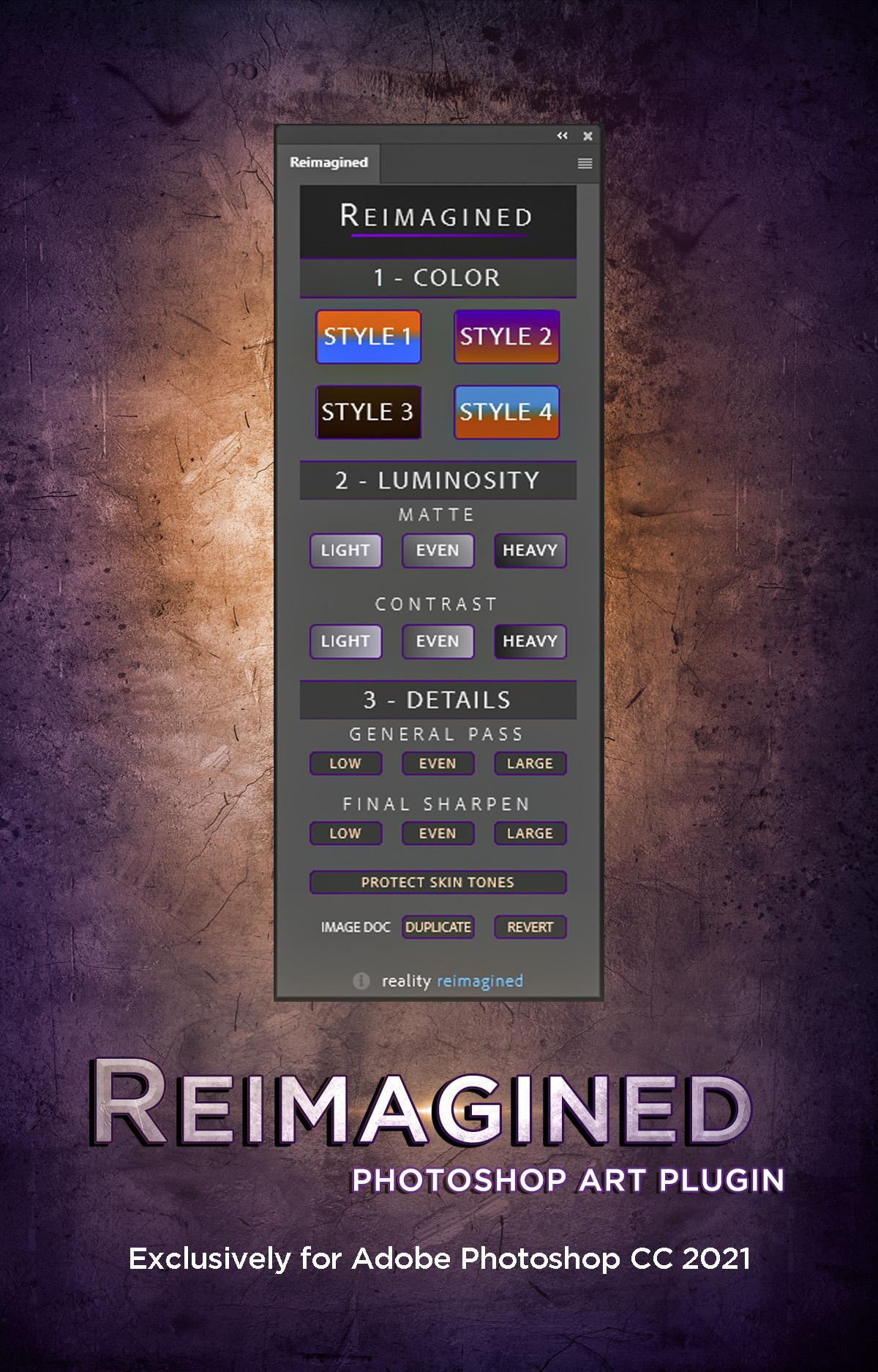 Reimagined Logo Graphic